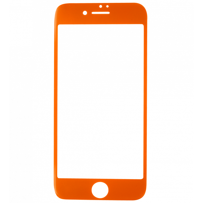 Verre de protection pour iPhone 6/7 - iProtect Orange