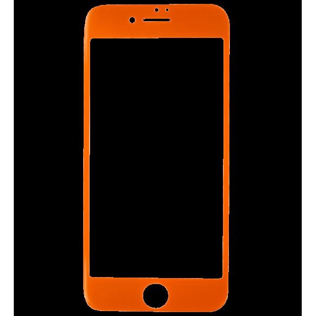 Verre de protection pour iPhone 6/7 - iProtect Orange