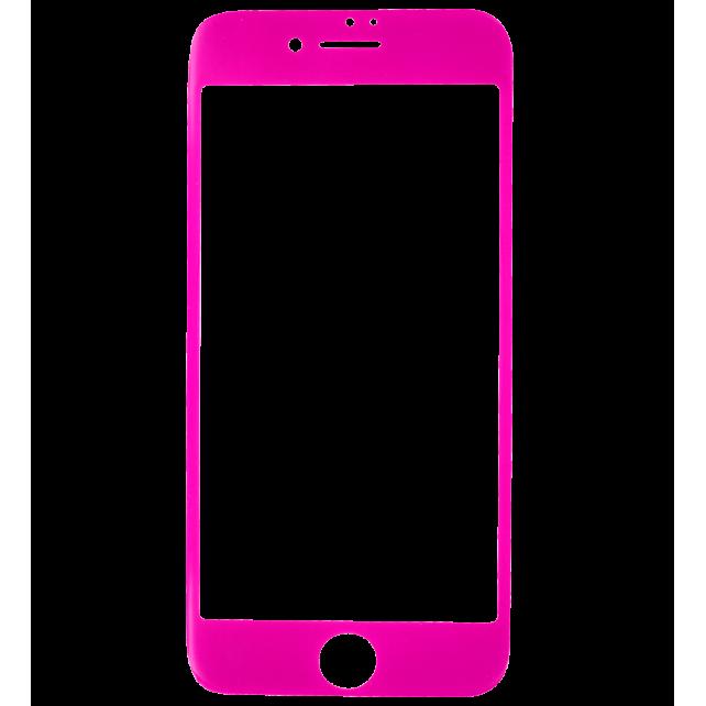 Glas Schutzfolie für iPhone 6/7 - I Protect Rosa