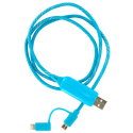 Led-Licht-Kabel 2 in 1 - Flash