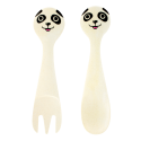 Set di posate in bambù - Bambooni