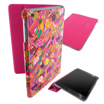Case for iPad mini 2 and 3 - I Smart Cover - Candy