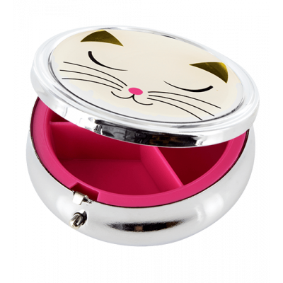 Pill box - Posologik - White Cat