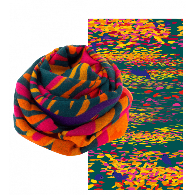 Scarf - Balade Feuilles d'automne
