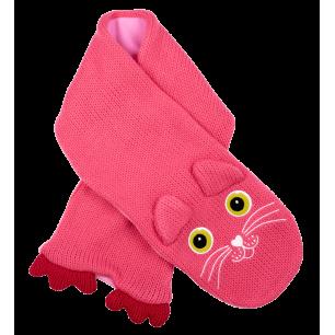 Sciarpa per bambino - NEO - Gatto Rosa
