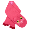 Kids Scarf - NEO Cat Pink