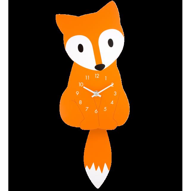 Dancing Owl - Horloge Renard