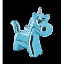 Salvadanaio - Unicorno Blu