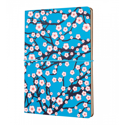 A5 double notebook - Smart note - Cerisier