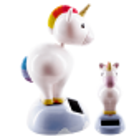 Solar powered dancing figurines - 1-2-3 Soleil Rabbit