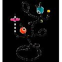 Porta gioielli - Pas de deux Multicolore
