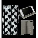Klappdeckel für iPhone 6, 6S, 7 - Iwallet2 White Cat