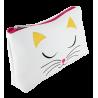 MUP. Akademic - Make-up-Beutel White Cat