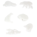 Bird Markers - Set de 6 marqueurs de verre oiseau