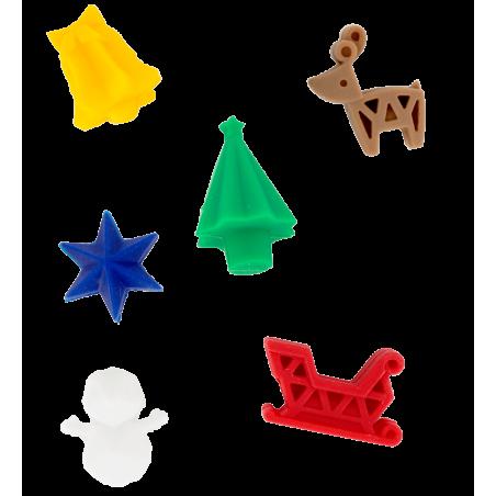 Happy Markers - 6er-Set Glasmarkierer