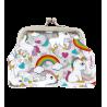 Clipurse - Porte-monnaie avec fermoir à clip Unicorno