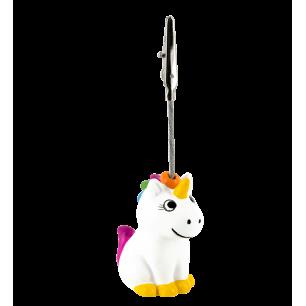 Portafoto - Zoome clip - Unicorno