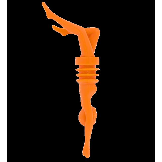 Bottle stopper - Diva Orange