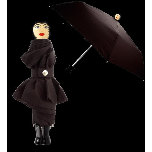 Rain Parade - Parapluie pliant Noir