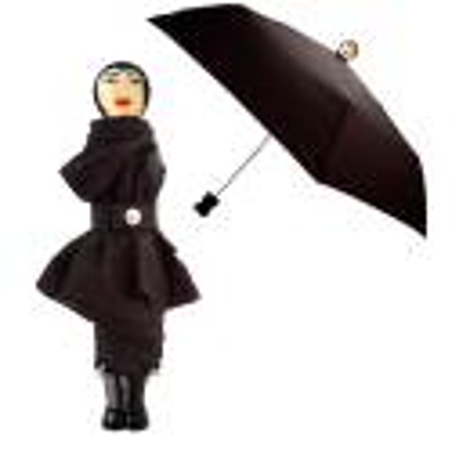 Compact umbrella - Rain Parade White