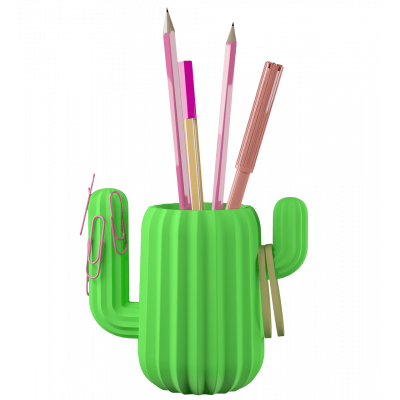 Magnetic pencil holder - Cactus