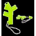 Audio Jack - Splitter audio pour écouteurs Vert