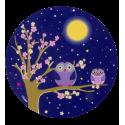 Mouse pad - Tapiron Blue Owl