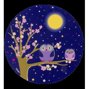 Mouse pad - Tapiron - Blue Owl
