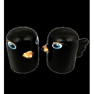 Salière et Poivrière - Tweet Tweet - Noir