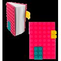 Carnet en silicone - Briques Violet