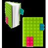 Silikon Notizbuch - Briques Grün