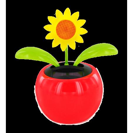 Solar-powered - Dancing Flowers Marguerite Vert