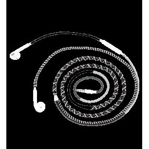 Auricolari con microfono - Salsa - Grigio / Nero