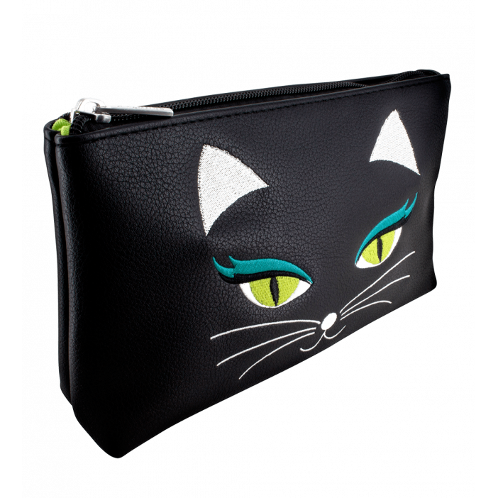 MUP. Akademic - Make-up-Beutel Black Cat