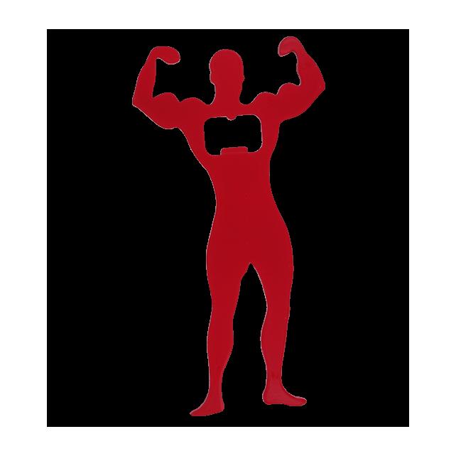 Bodybuilder - Décapsuleur Rosso