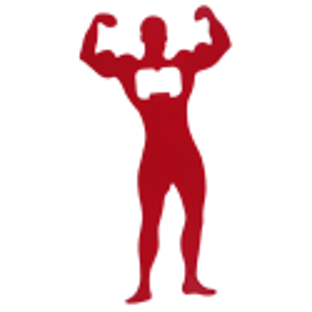 Bodybuilder - Apribottiglie Rosso