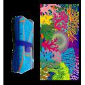 Microfibre towel - Body DS Blue Flower