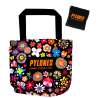 Shopping en Fleurs - Shopping bag Black