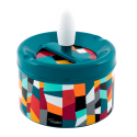 Push-button ashtray - Pousse Pousse Dahlia