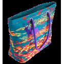 Shopping bag - My Daily Bag 2 Blue Flower