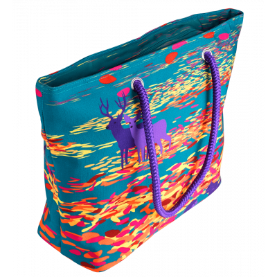 Shopping bag - My Daily Bag 2 - Feuilles d'automne