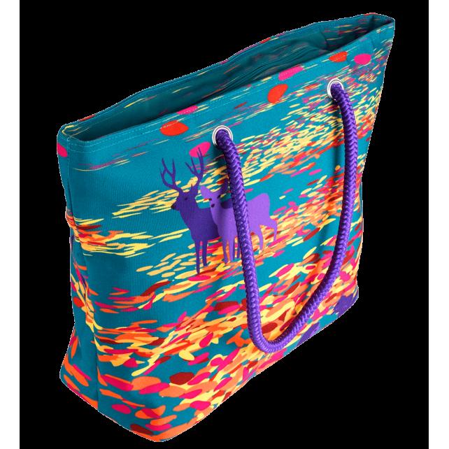 My Daily Bag - Einkaufstasche Feuilles d'automne
