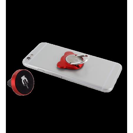 Ring phone holder magnet - Bear