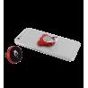 Support bague de téléphone magnetique - Bear Rouge