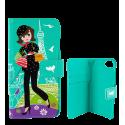 Iwallet - Coque à clapet pour iPhone 6+ 7+
