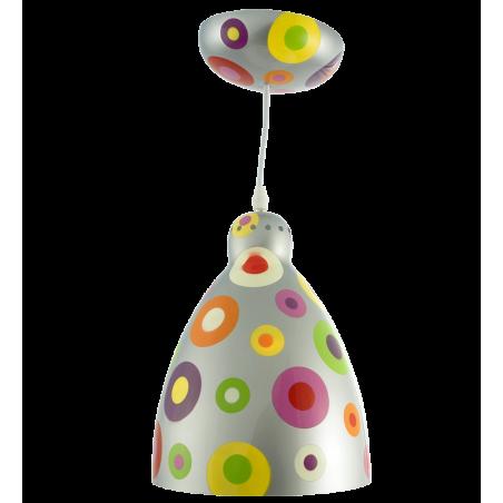 Lampada a sospensione - Globe Trotter Silver Spots