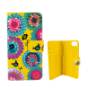 Flap cover/wallet case for iPhone 6+, 7+ - Iwallet Dahlia