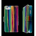 Klappdeckel für iPhone 6, 6S - I Big Wallet Paint