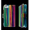 Custodia a portafoglio per iPhone 6, 6S - I Big Wallet Paint