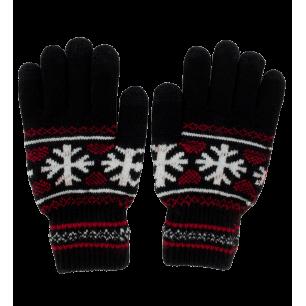 Guanti per touchscreen - Hand in glove - Nero
